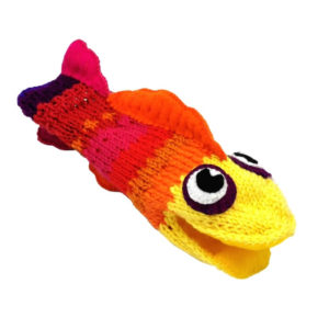 Talkative Fish Puppet