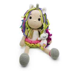 Baby Unicorn Doll By JRB