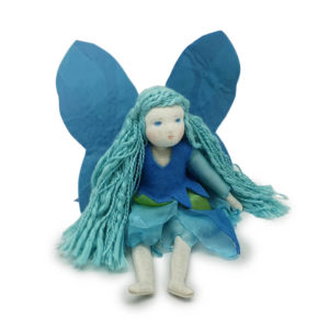 Forget-Me-Not Fairy By Lalella