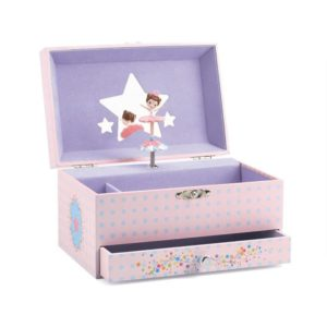 Wooden Ballerina Musical Box