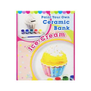 Paint Your Own Cupcake Money Bank