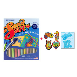 Sand Art Mix Set + Fridge Magnets