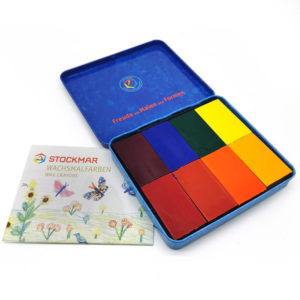 Stockmar Beeswax Block Crayons 8