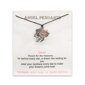 Horse Angel Pendant