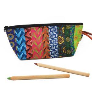 Shweshwe Pencil Case