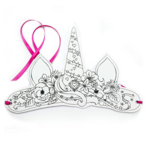 Unicorn Paper Crown