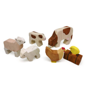 Wooden Farmyard Set – Moms & Babies