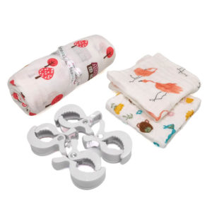Muslin Blanket Gift Set