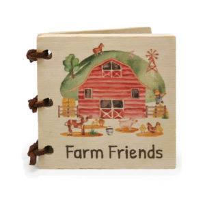 Farm Friends Little Wooden Book