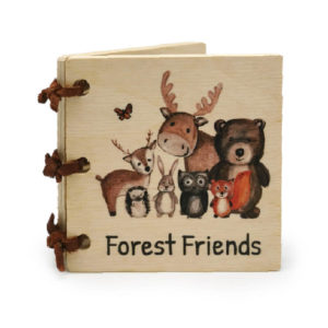 Forest Friends Little Wooden Book