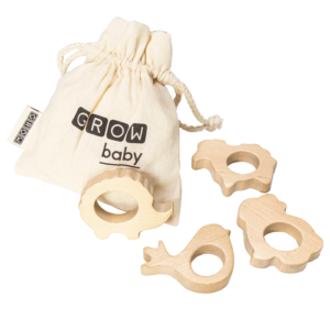 My First Friends Wooden Teethers