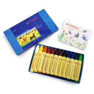 Stockmar Wax Stick Crayons 12