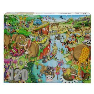 Crazy Safari Puzzle