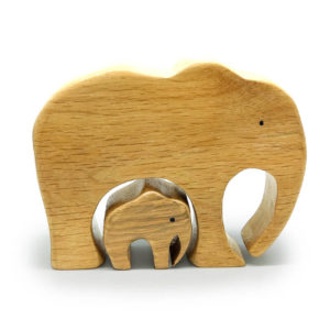 Wooden Elephants