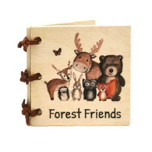 Forest Friends Little Wooden Book