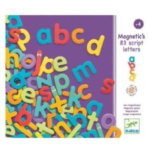 Wooden Magnetics – Script Letters