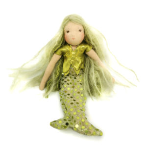 Green Mermaid By Lalella