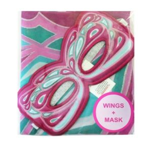 Purple Fairy Wings And Mask