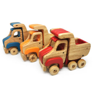 Dusty Wooden Truck