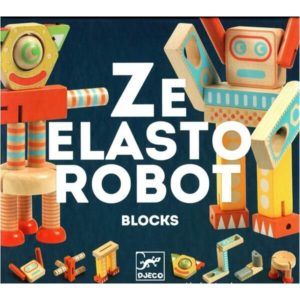 Ze Elastorobot – Wooden Game