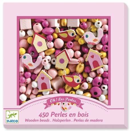 Djeco kids wooden beads