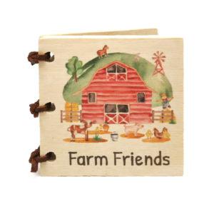 Farm Friends Little Wooden Book