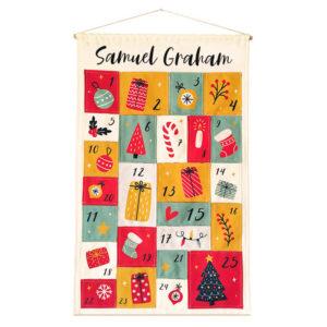 Personalised Festive Advent Calendar
