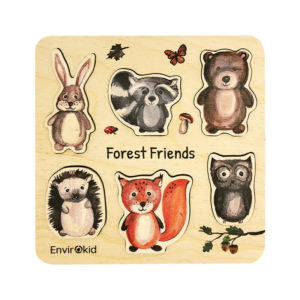 Forest Friends Little Wooden Puzzle And Toys